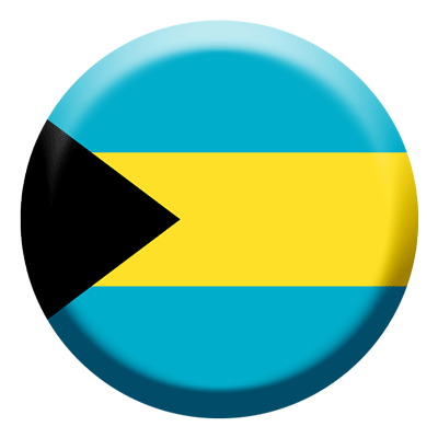 バハマ国の国旗-コイン