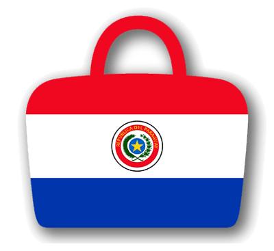 パラグアイ共和国の国旗-バッグ