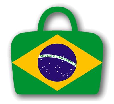 ブラジル連邦共和国の国旗-バッグ