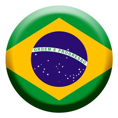 ブラジル連邦共和国の国旗-コイン