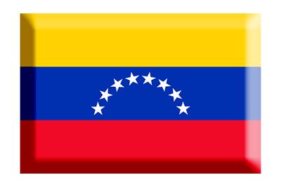 ベネズエラ・ボリバル共和国の国旗-板チョコ