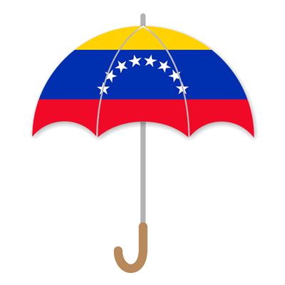 ベネズエラ・ボリバル共和国の国旗-傘