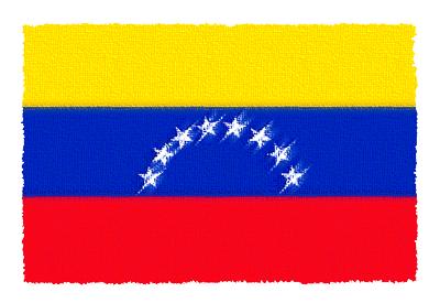 ベネズエラ・ボリバル共和国の国旗-パステル