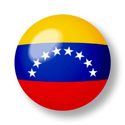 ベネズエラ・ボリバル共和国の国旗-ビー玉