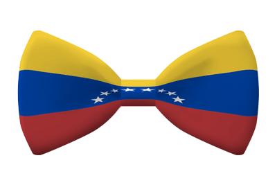 ベネズエラ・ボリバル共和国の国旗-蝶タイ
