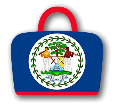 ベリーズの国旗-バッグ