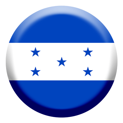 ホンジュラス共和国の国旗-コイン