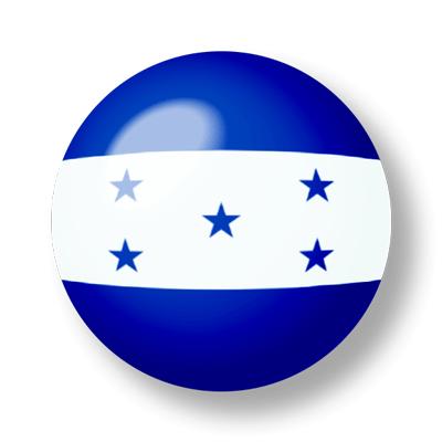 ホンジュラス共和国の国旗-ビー玉