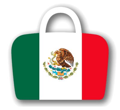 メキシコ合衆国の国旗-バッグ