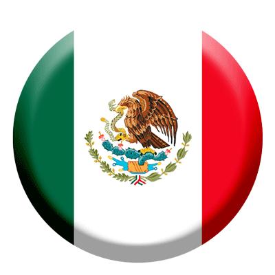 メキシコ合衆国の国旗-コイン