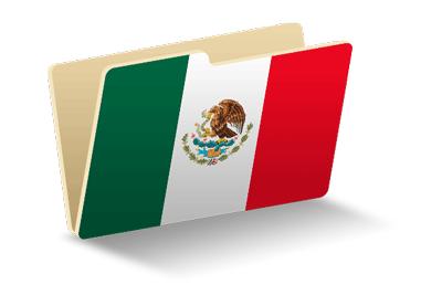 メキシコ合衆国の国旗-フォルダ