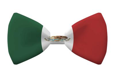 メキシコ合衆国の国旗-蝶タイ