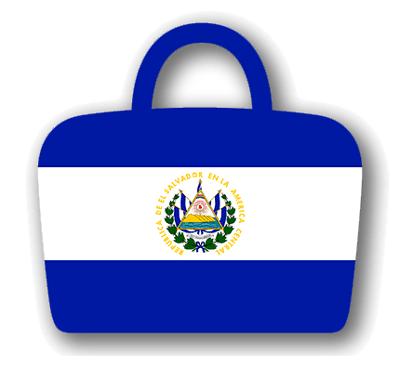 エルサルバドル共和国の国旗-バッグ