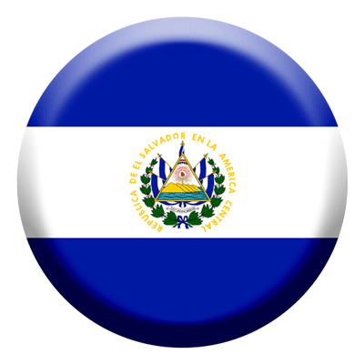 エルサルバドル共和国の国旗-コイン