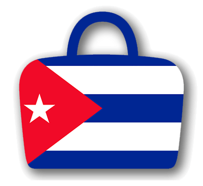 キューバ共和国の国旗-バッグ