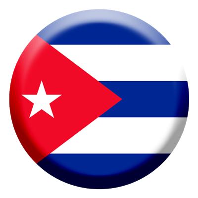 キューバ共和国の国旗-コイン