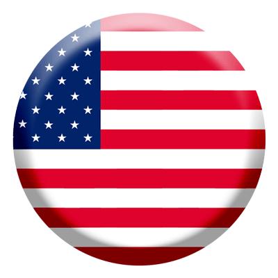 アメリカの国旗-コイン