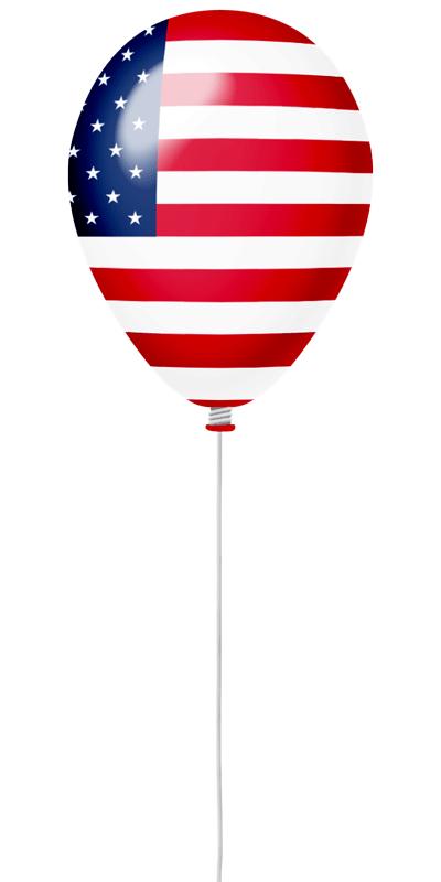 アメリカの国旗-風せん