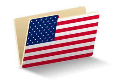 アメリカの国旗-フォルダ