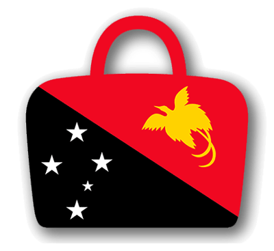 パプアニューギニア独立国の国旗-バッグ