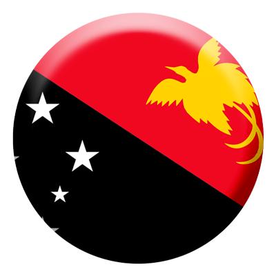 パプアニューギニア独立国の国旗-コイン