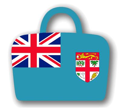 フィジー共和国の国旗-バッグ
