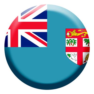 フィジー共和国の国旗-コイン