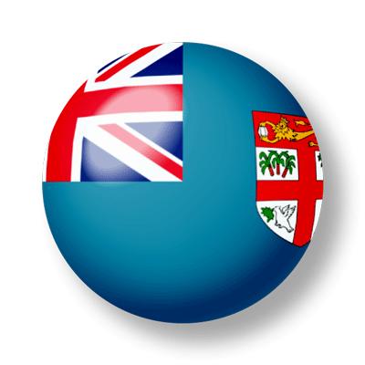 フィジー共和国の国旗-ビー玉