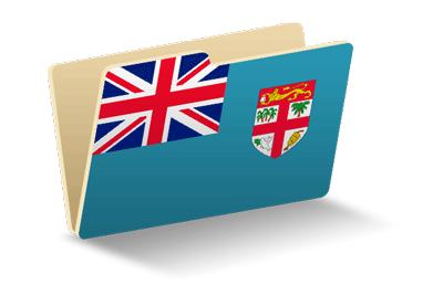 フィジー共和国の国旗-フォルダ