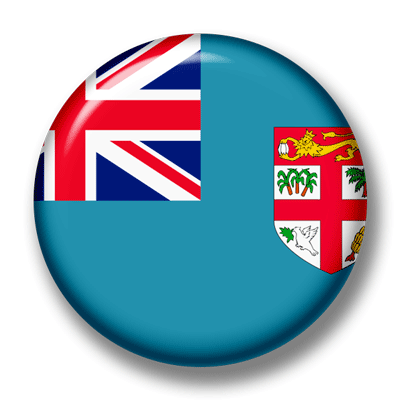 フィジー共和国の国旗-缶バッジ