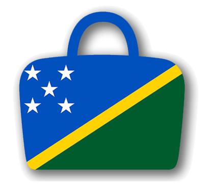 ソロモン諸島の国旗-バッグ