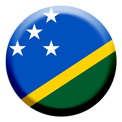 ソロモン諸島の国旗-コイン