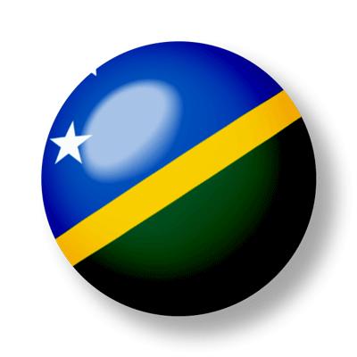 ソロモン諸島の国旗-ビー玉