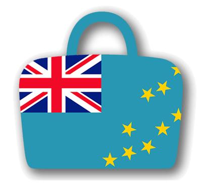 ツバルの国旗-バッグ
