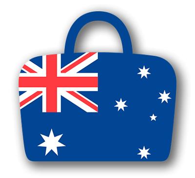 オーストラリアの国旗-バッグ
