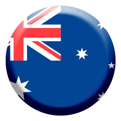 オーストラリアの国旗-コイン