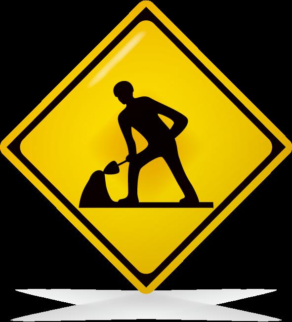 道路工事中-アイコン-文字なし