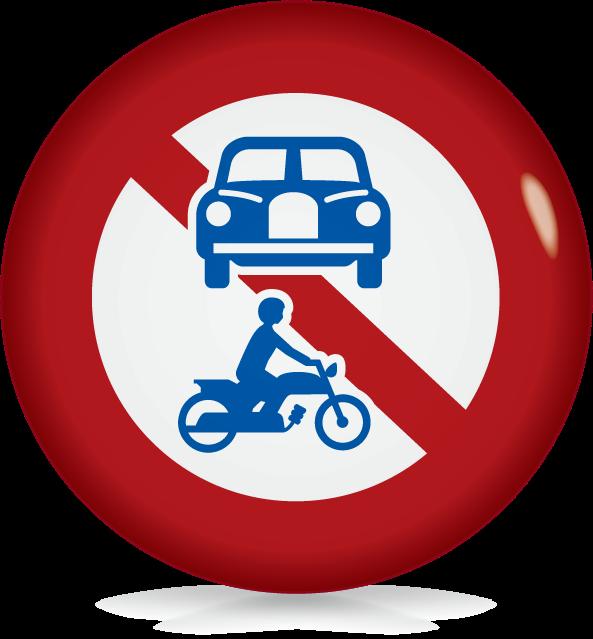 車両(組合せ)通行止め-アイコン-文字なし