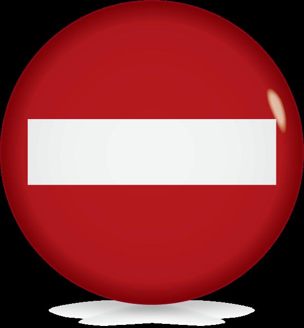車両進入禁止-アイコン-文字なし