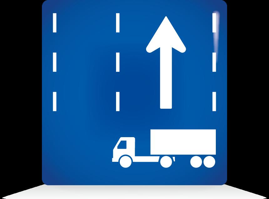 牽引自動車の高速自動車国道通行区分-アイコン-文字なし
