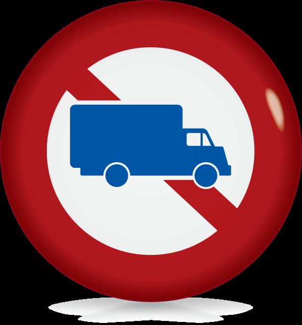 大型貨物自動車等の通行止め-アイコン-文字なし