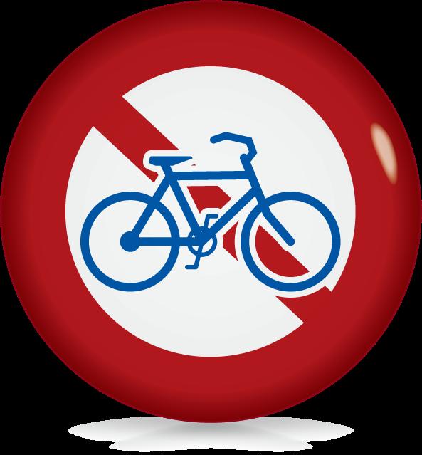 自転車通行止め-アイコン-文字なし