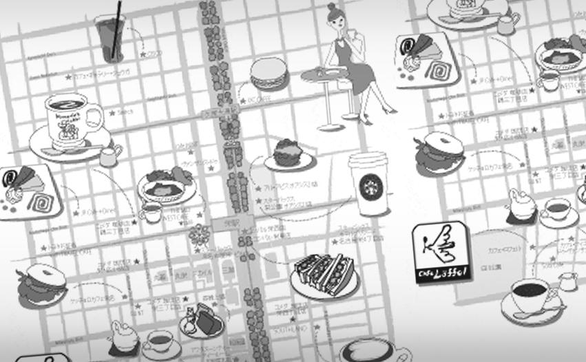 地理 路線図 イラストマップ