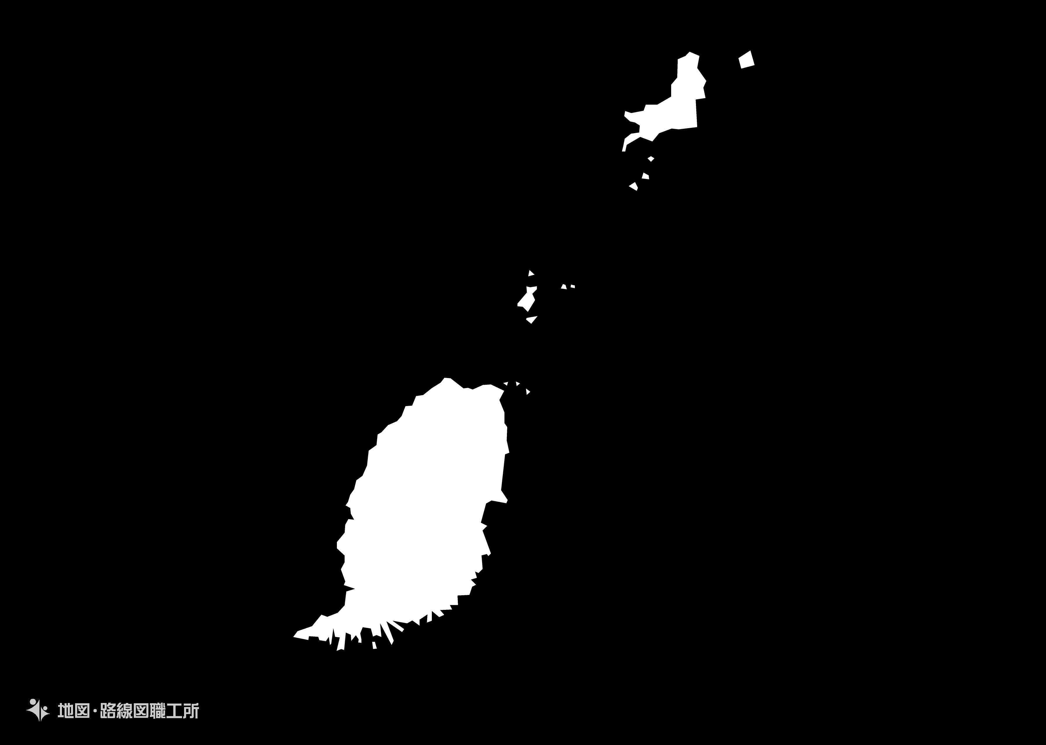 世界の白地図 グレダナ grenada map
