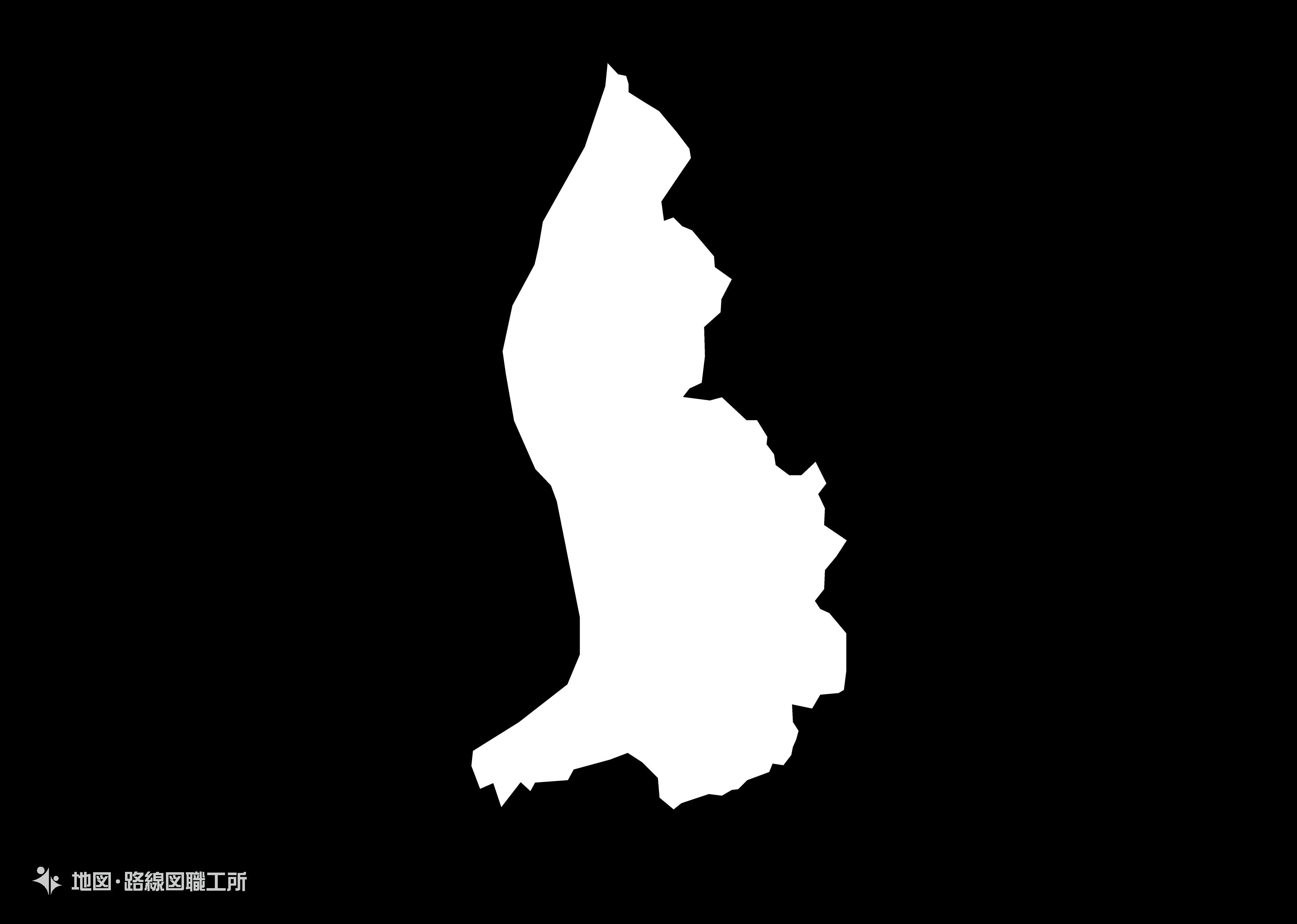 世界の白地図 リヒテンシュタイン公国 principality-of-liechtenstein map