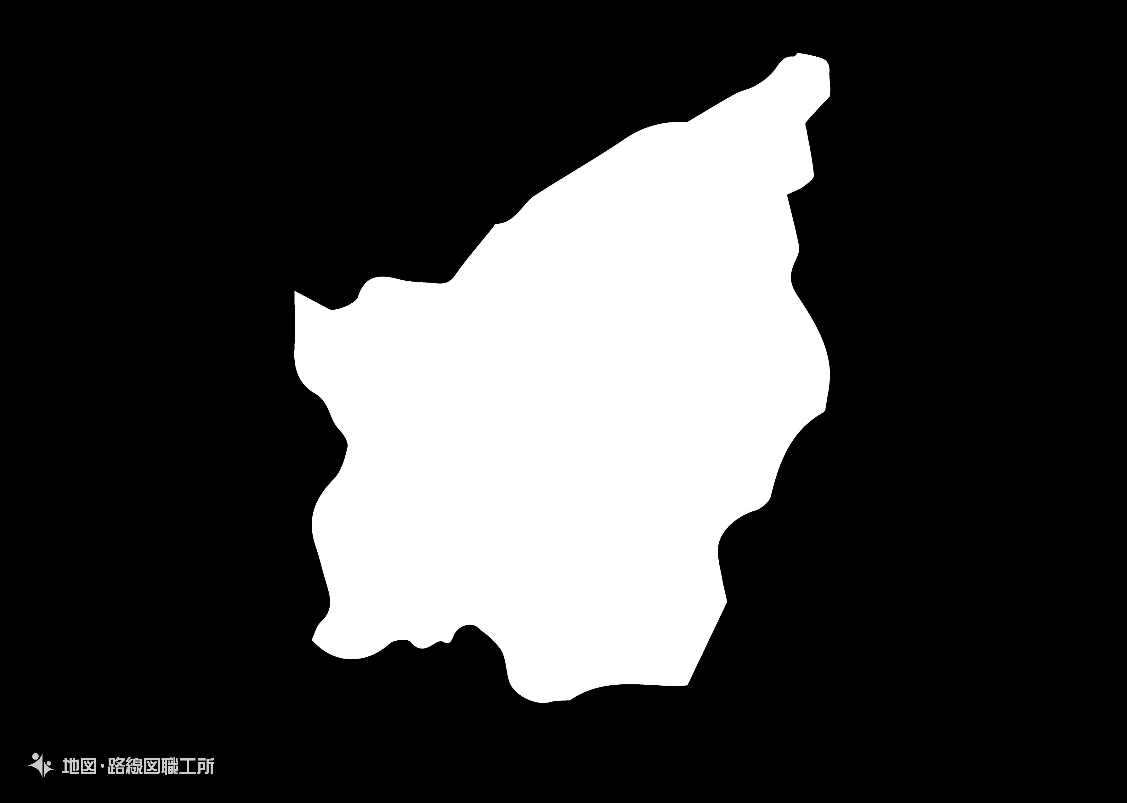 世界の白地図 サンマリノ共和国 republic-of-san-marino map