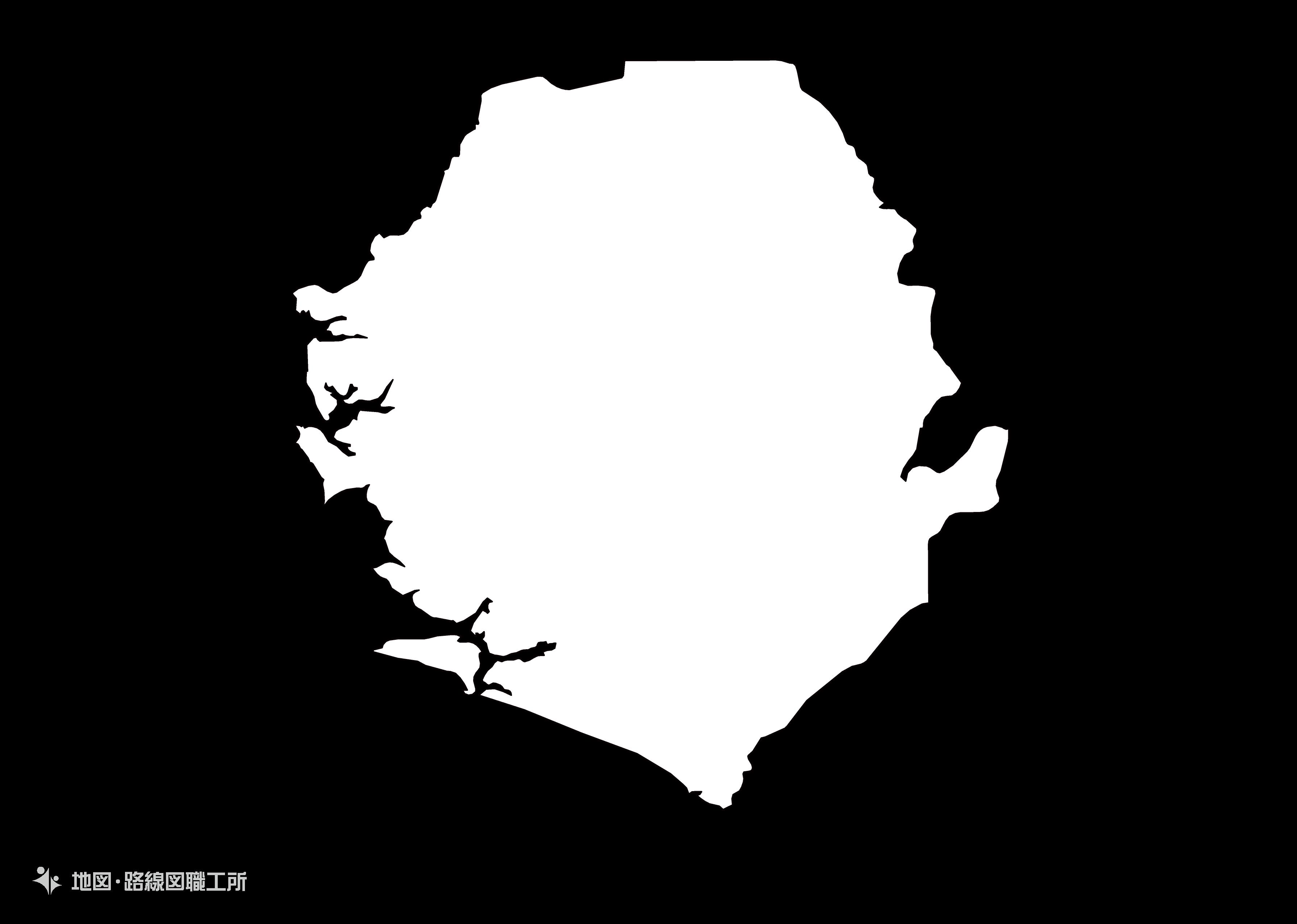 世界の白地図 シエラレオネ republic-of-sierra-leone map