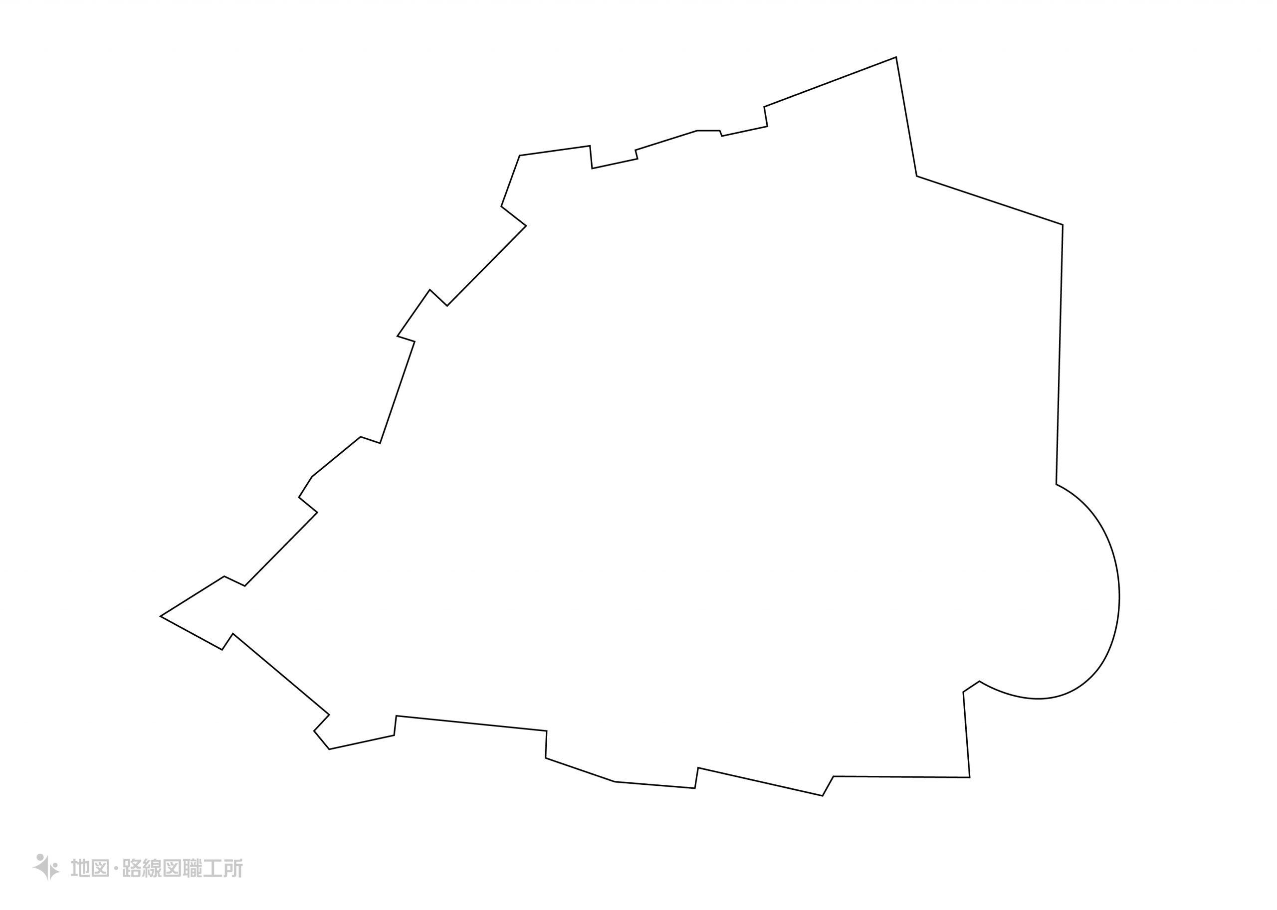 世界の白地図 バチカン市国 state-of-the-city-of-vatican