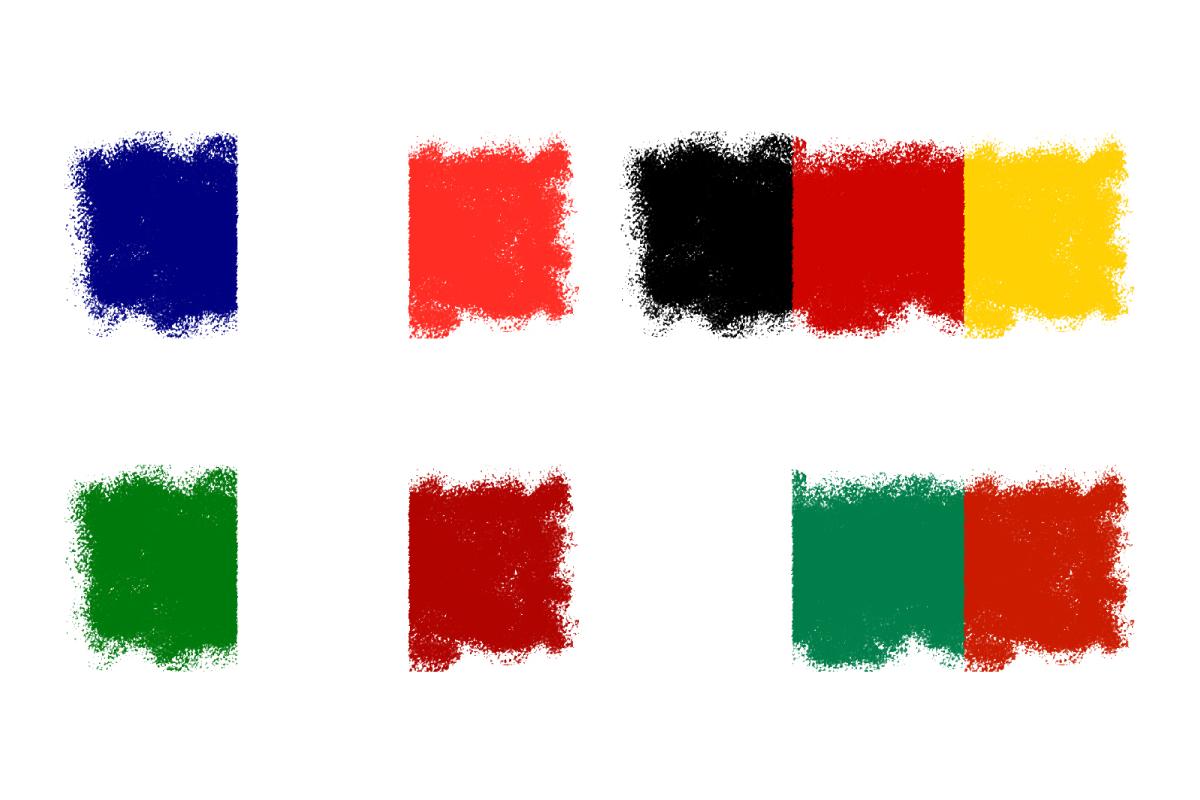 三色旗が多い理由