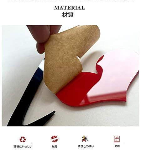 ウォールステッカー(3D壁紙) 材質
